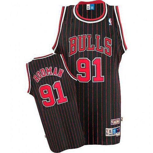 Джерси Chicago Bulls RODMAN #91 retro