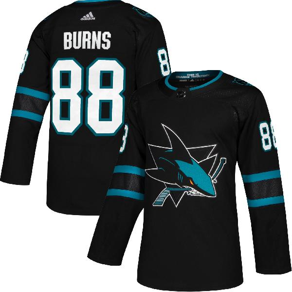 Хоккейный свитер San Jose Sharks BURNS #88 alternate