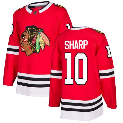 Джерси Chicago Blackhawks SHARP #10 красная