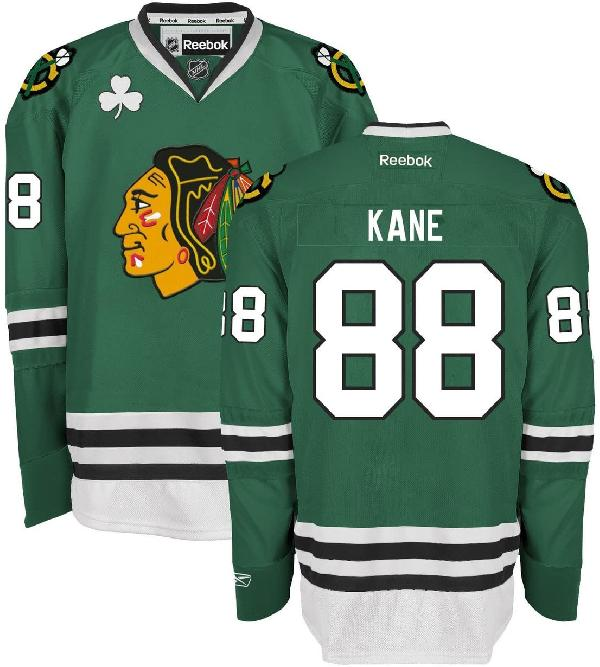 Хоккейный свитер Chicago Blackhawks st.patrick's day