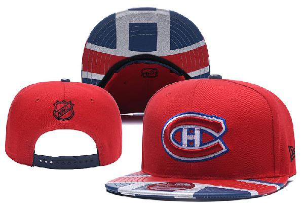 Кепка НХЛ Montreal Canadiens red