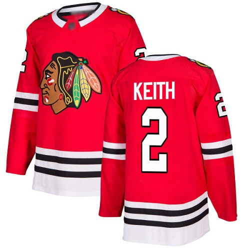 Джерси Chicago Blackhawks KEITH #2 красная