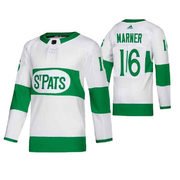 Хоккейная майка Toronto Maple Leafs st. patrick's day