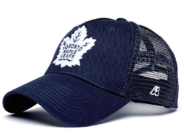 Летняя бейсболка NHL Toronto Maple Leafs синяя