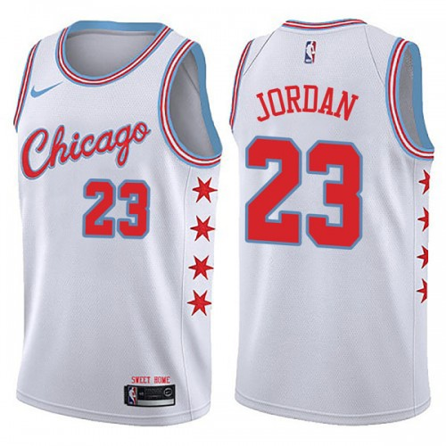 Джерси Chicago Bulls JORDAN #23 city edition 2017