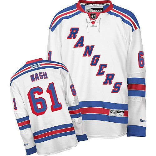 Джерси New York Rangers NASH #61 до 2017 белая