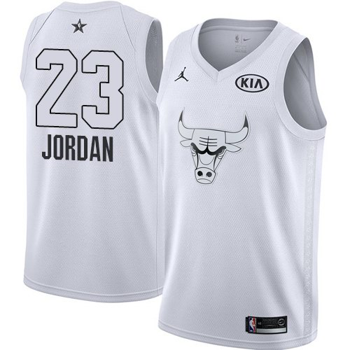 Джерси Chicago Bulls JORDAN #23 all star 2019 белая