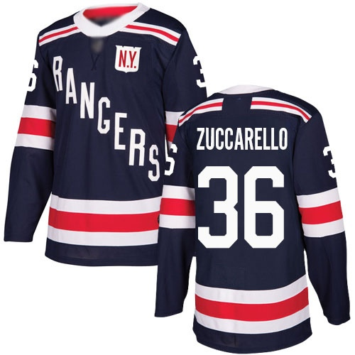 Хоккейный свитер New York Rangers ZUCCARELLO #36 winter classic 2018