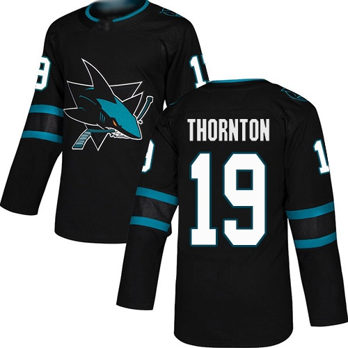 Хоккейный свитер San Jose Sharks THORNTON #19 alternate