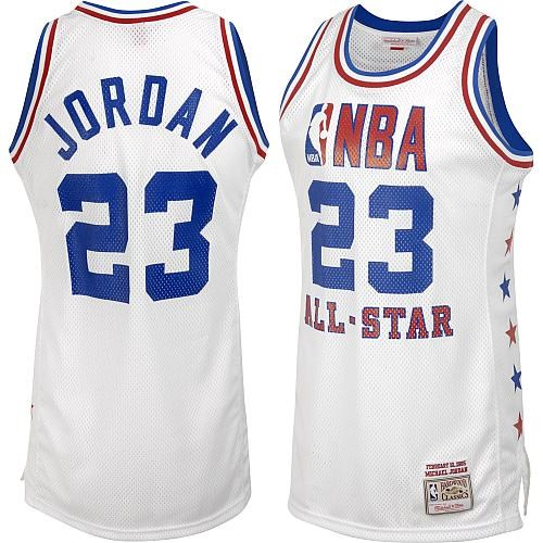 Джерси Chicago Bulls JORDAN #23 all star 1985