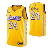 Джерси Los Angeles Lakers BRYANT #24 city edition