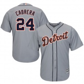 Бейсбольная форма MLB Detroit Tigers серая