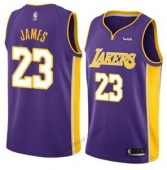 Детская майка Los Angeles Lakers JAMES #23 фиолетовая