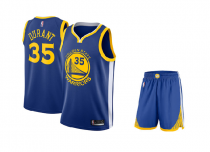 Форма для детей NBA Golden State Warriors DURANT #35 синяя
