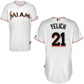 Майка MLB Miami Marlins white