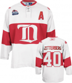 Джерси Detroit Red Wings winter classic 2009 белая